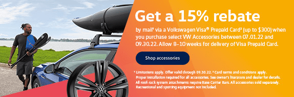 Image of details regarding a 15% rebate. Click to view rebate.